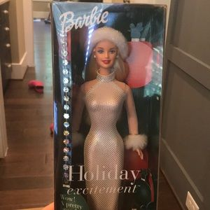 Holiday Excitement Barbie